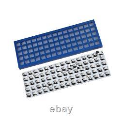 ID75 75 Keys Ortholinear Layout QMK Anodized Aluminum Case Hot Swap PCB Kit