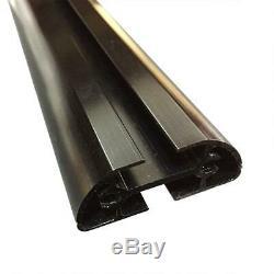 J1000 2 Bar (A285 50 CB)(no acc) Universal Ladder Rack for Pickup Topper Black