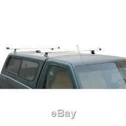 J1000 Ladder roof rack with 50 bars for Pickup Topper & Cap Black (Returned)