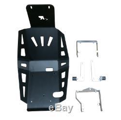 KAWASAKI VERSYS-X300 ALUMINUM SKID PLATE Black-Dual Sport, Adventure