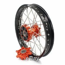 KKE 2.1518 Enduro Rear CUSH Drive Wheels Rim Fit KTM EXCR EXCF 125-530 250 350