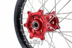 KKE 2.1518 Enduro Rear Wheel For HONDA CRF250R CRF450R CRF250X CRF450X CR250R