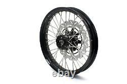 KKE 2.519/4.2517 Supermoto CUSH Drive Wheels Rims Fit SUZUKI DR650SE 1996-2019