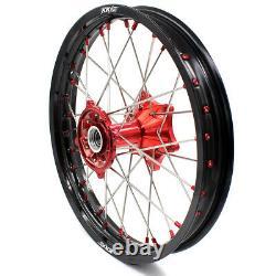 KKE 21/18 Cast Wheel Set For Honda CRF250R 04-13 CRF450R 02-12 CR125R/250R 02-13