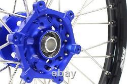 KKE 21/18 Enduro Wheels Set For YAMAHA WR250F 2001-2019 WR450F 2003-2018 CNC Hub