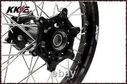 KKE 21/19 MX Dirt Bike Wheels Set For HUSQVARNA TE TC FE FC 125 250 350 450 500