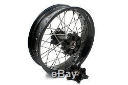 Kke 2.5/4.25 Wheels Fit Ktm 950 Ktm990 2003-2018 Rim Set Black Cnc Hub Rim