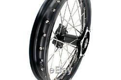 Kke 21/19 Black Cast Hub Wheel Rim Fit Honda Cr125r Cr250r 96-99 Cr500r 96-2001
