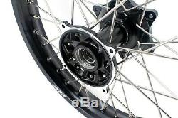 Kke 21 19 Casting MX Dirtbike Wheel Rim For Honda Cr125r Cr250r 2002-2013 Black
