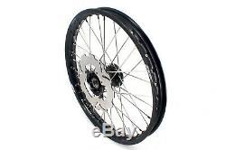 Kke 21 19 Casting MX Wheel Rim Set For Honda Cr125r 2002-2013 Crf250r Crf450r