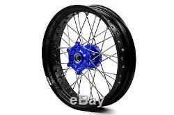 Kke 3.5/4.25 17 Supermoto Spoke Wheel Rim Set Fit Yamaha Wr250r 2008-2020