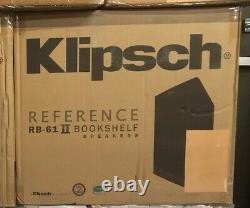 Klipsch RB-61 II Reference Series Bookshelf Speakers (Pair)