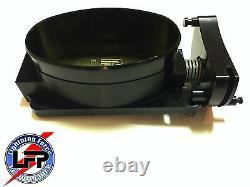 Lfp Wide Mouth Mono Blade Billet Throttle Body 2000 Ford F-150 Lightning Black