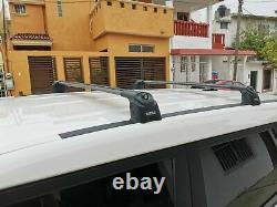 Mitsubishi Outlander Sport Roof Racks Cross Bars Rails Top Carrier Alu Black