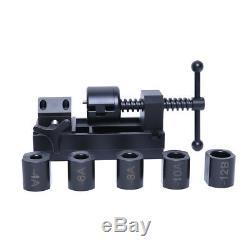 Multi Function Billet Aluminum Hose Installation Tool Fit -4 to -16 Socket Nuts
