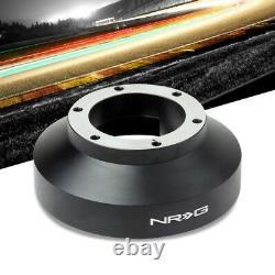 NRG SRK-131H Short Steering Wheel Hub Adapter Black For 94-07 Honda Accord