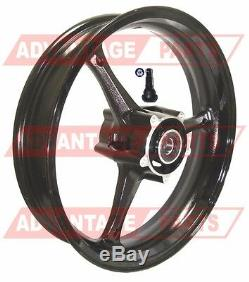 New 17 Inch Suzuki Gsxr 1000 Gsx-r 1000 Front Rim Wheel High Gloss Black 05-08