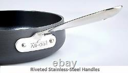 New ALL-CLAD Hard Anodized HA1 Nonstick 10 Piece Cookware High Quality Pro Set