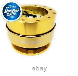 New Nrg Quick Release Gen. 2.0 Chrome Gold Body And Ring + Hardwaresrk-200cg