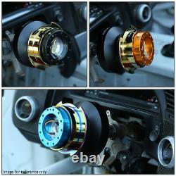 Nrg Srk-250bk-wt Steering Wheel Quick Release Adapter Gen 2.5 Black/white Ring