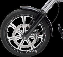 Performance Machine 6 Piston Left Side Brake Caliper 84-99 Harley Touring Dyna