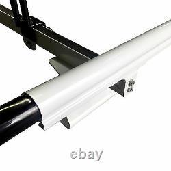 Pickup Topper UNIVERSAL Silver 2x Ladder Holder Aluminum Roof Rack System