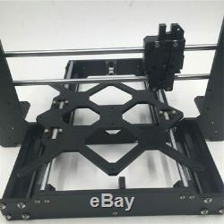 Prusa i3 MK3 All Metal 3D Printer Mechanical Frame Anodized Aluminum Black Kit