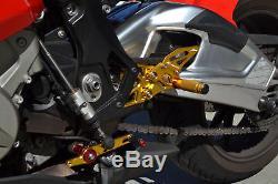Racing Adjustable Footrest Rearset FootPeg For BMW S1000RR S1000R HP4