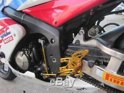 Racing Adjustable Footrest Rearset Footpeg For Honda CBR600RR 2003-2006