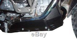 Ricochet Anodized Aluminum Skid Plate for BMW R1200GS (08-12), Part #285-BLACK