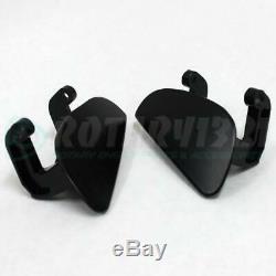 Rx-7 Fd3s Exterior Door Handles Anodized Black 100% Aluminum Rx7 13brew 13b