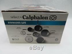 Select by Calphalon 8pc Hard-Anodized Non-Stick Cookware Set