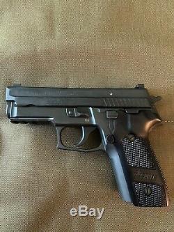 Sig Sauer P228 P229 DA/SA Hogue Aluminum Grips Black Anodized New Never Used