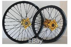 Suzuki RMZ 250 2007-2018 RMZ 450 2005-2018 Wheel set 21/19