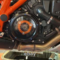 Transparent Engine Clutch Cover Kit for KTM 1290 Super Duke R/GT 2014-2021