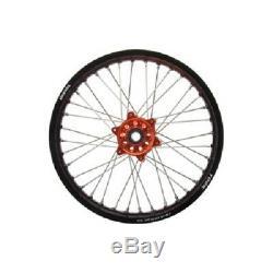 Tusk Complete Rear Wheel 10x1.60 KTM 50 SX HUSQVARNA TC 50 2015-2018 rear rim