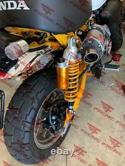 USA For Honda Monkey Bike Z125 2018-2020 CNC Suspension Absorber Strut Shock BLK