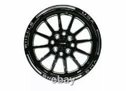 VMS Black Hawk Racing Rims Wheels 15x8 and 15x3.5 5x100 5x114.3