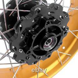 VMX 2.1521/4.2518 Tubeless Wheels Rims For HONDA Africa Twin CRF1000L GOLD RIM