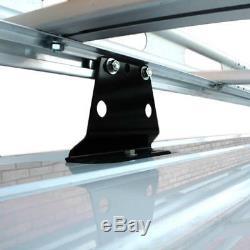 Vantech H2 94.5 Ladder Roof Cargo Rack. Fits Transit Connect 2014-On Black