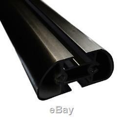 Vantech H3 2 Bar AL Ladder Roof Rack (no acc), FitsRAM ProMaster 2013-ON Black