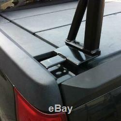 Vantech P3000 1-Bar Aluminum Ladder Rack with Side Supports Anodized Silver