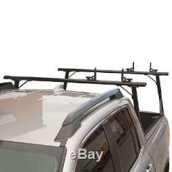 Vantech P3000 Aluminum Ladder Rack System for Honda Ridgeline 2017-On, Black