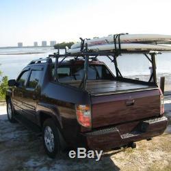 Vantech P3000 Ladder Roof Rack Aluminum System Honda Ridgeline 2005-16 Black