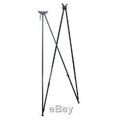 Viper-Flex Styx Elite 4 Leg Shooting Sticks Made From Black Anodised Aluminium