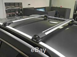 Volkswagen Jetta SportWagen Wagon Roof Rack Cross Bars Black Color