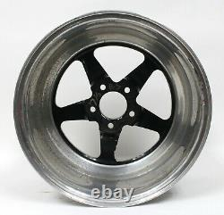 Weld Racing RT-S S71 17 Forged Aluminum Black Anodized 17x10 Wheel Rim USED