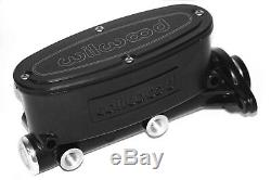 Wilwood Brake Black Anodized Aluminum Master Cylinder 260-8556-BK 1-1/8 Bore