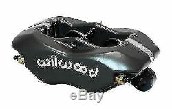 Wilwood Dynalite Forged 4 Piston Caliper BLACK (1.38 Bore) WB120-6806