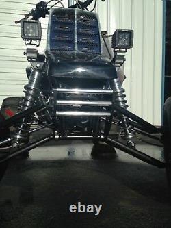 Yamaha Banshee Front Bumper Black Anodized Aluminum